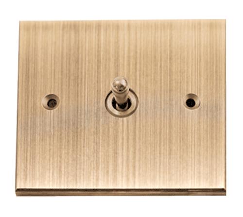 Notre interrupteur en bronze foncé luxe tendance !
